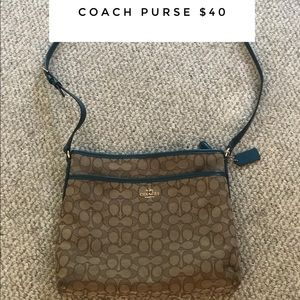 Coach Bags - Teal Coach Purse